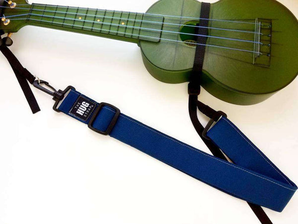 Hug Strap for Ukulele  Denim Blue