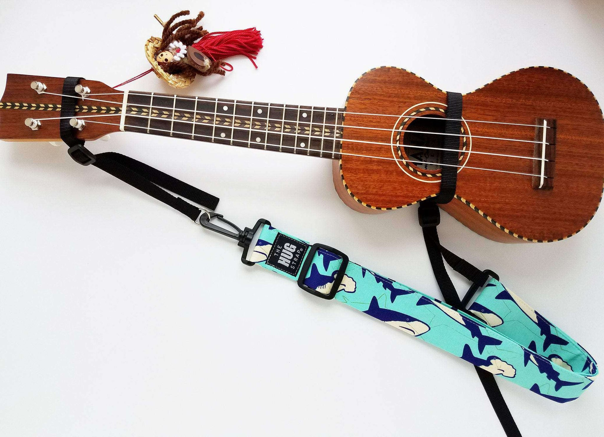 Hug Strap for Ukulele Sharks