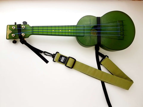 Hug Strap for Ukulele Spring Green