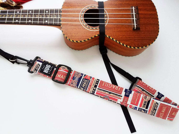 Hug Strap Ukulele Strap No Button Airmail