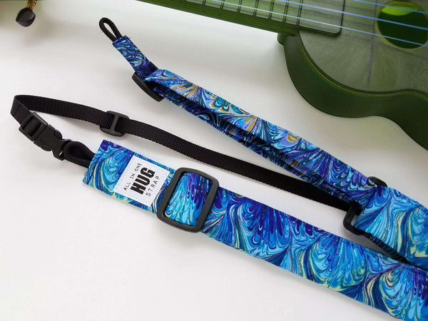 All in One Hug Strap Purple and Blue Oilslick