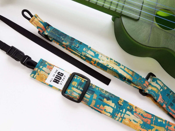 Ukulele Strap All in One Hug Green Matisse