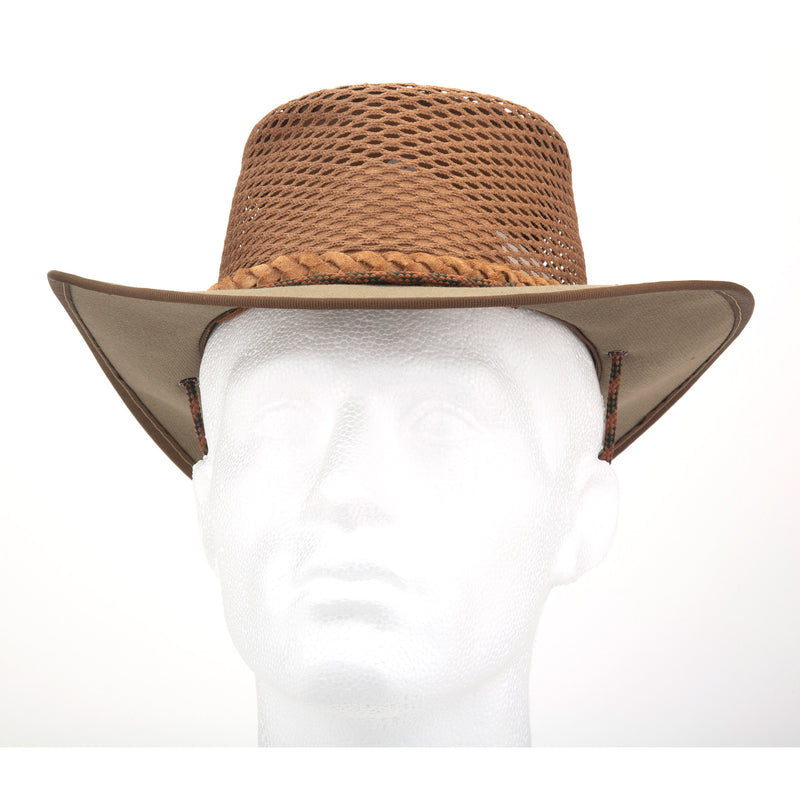 Tracker Khaki Breezy Canvas Hat
