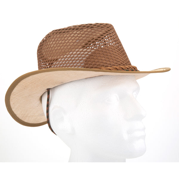 Tracker Hessian Breezy Hat