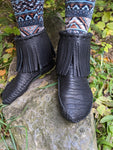 moccasins, custom moccasins, men's boots, women's boots, leather boots