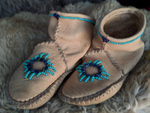 Custom Soul Medicine Moccasins // Ankle Height