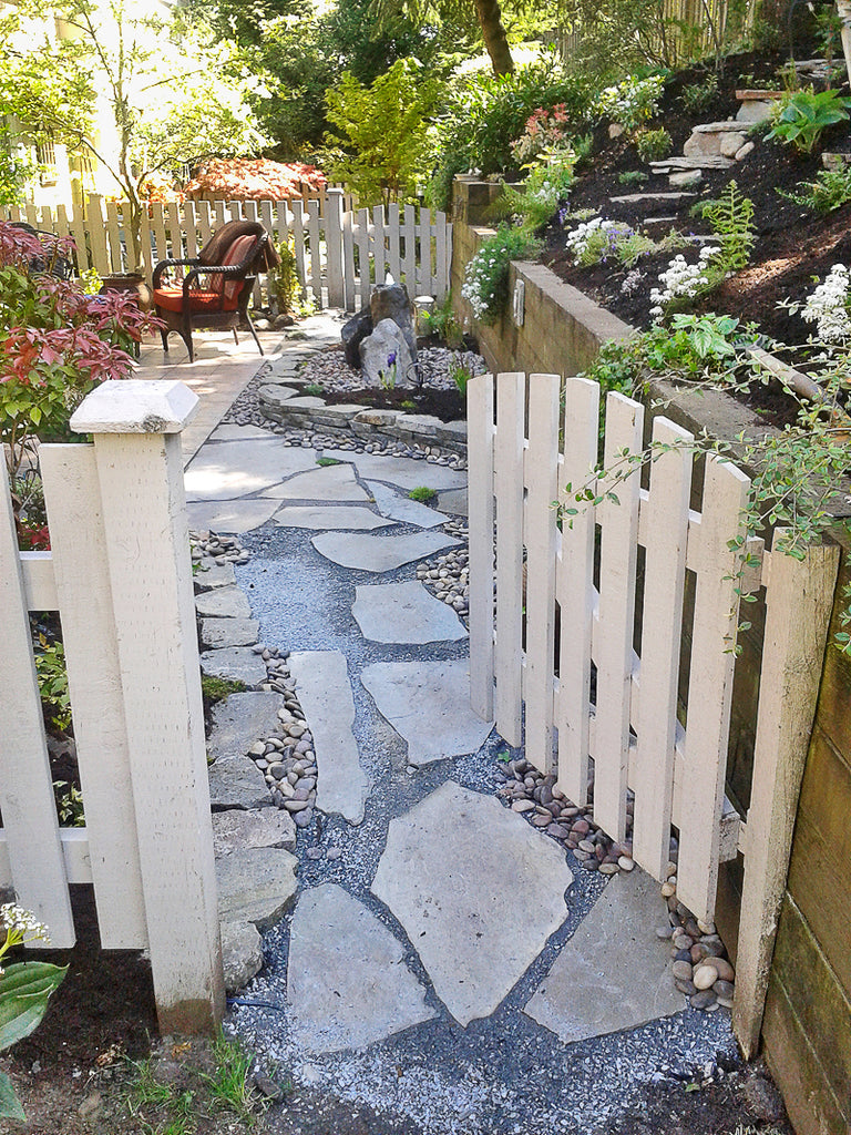 south surrey magical garden walkway and gardens by scotty's landscaping