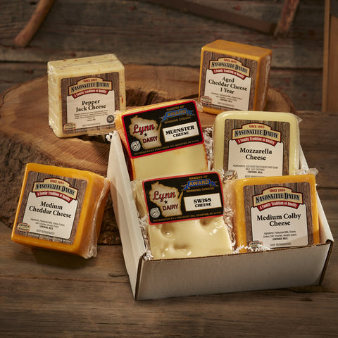 4 Pack Wisconsin Cheese
