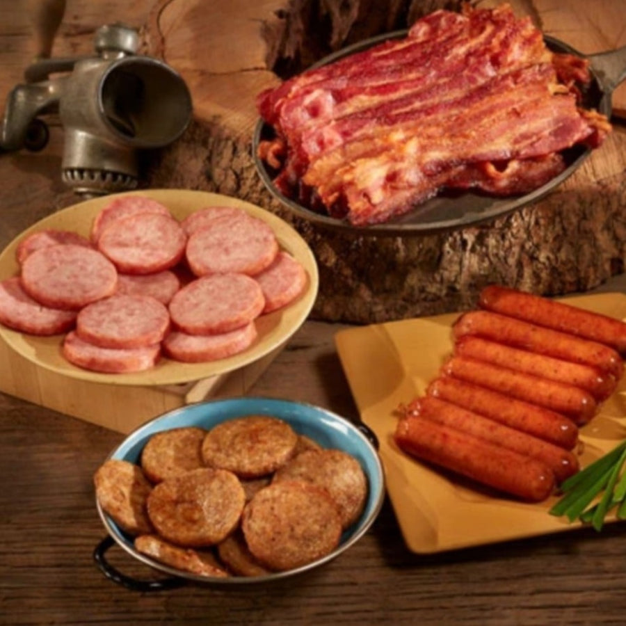 Breakfast Meat Sampler