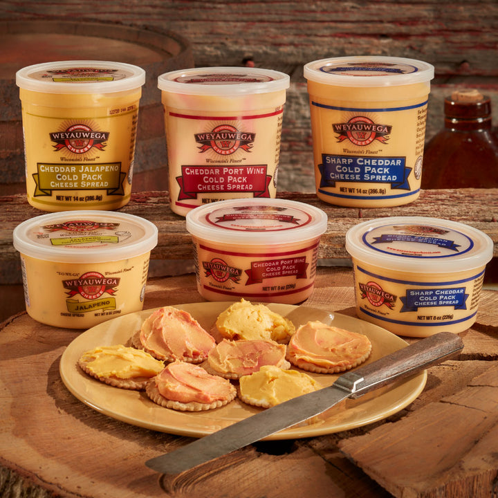 Wisconsin Cheese Spreads 3-Pack