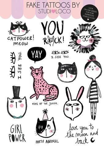 Tattoos Cat