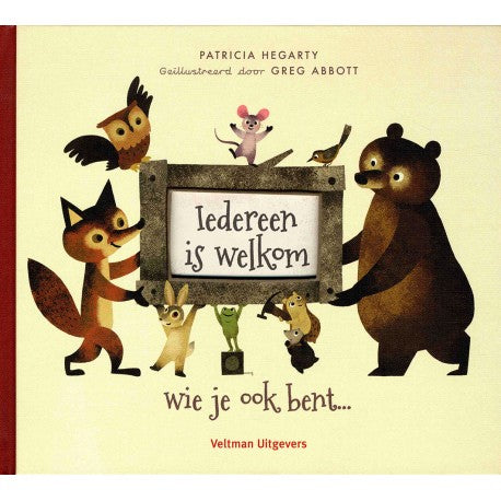 Iedereen is welkom - P. Hegarty