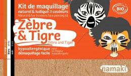 Make-up 'zebra en tijger'