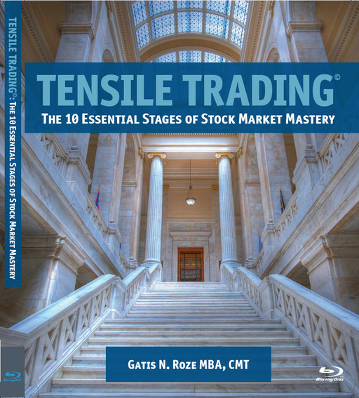 Tensile Trading© Blu-ray: The 10 Essential Stages of Stock Market Mastery - 2 Disc Set