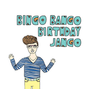 ABLE AND GAME Card - Birthday Jango