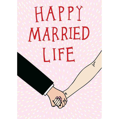 ABLE AND GAME Card - Happy Married Life