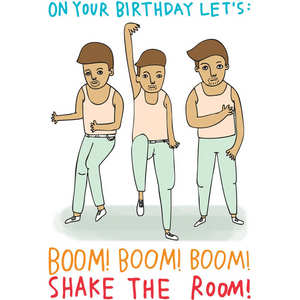 ABLE AND GAME Card - Shake the Room!