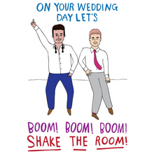 Load image into Gallery viewer, ABLE AND GAME Card - Wedding Day (Mr & Mr)