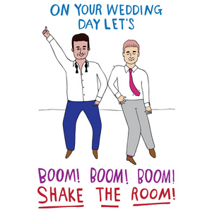ABLE AND GAME Card - Wedding Day (Mr & Mr)
