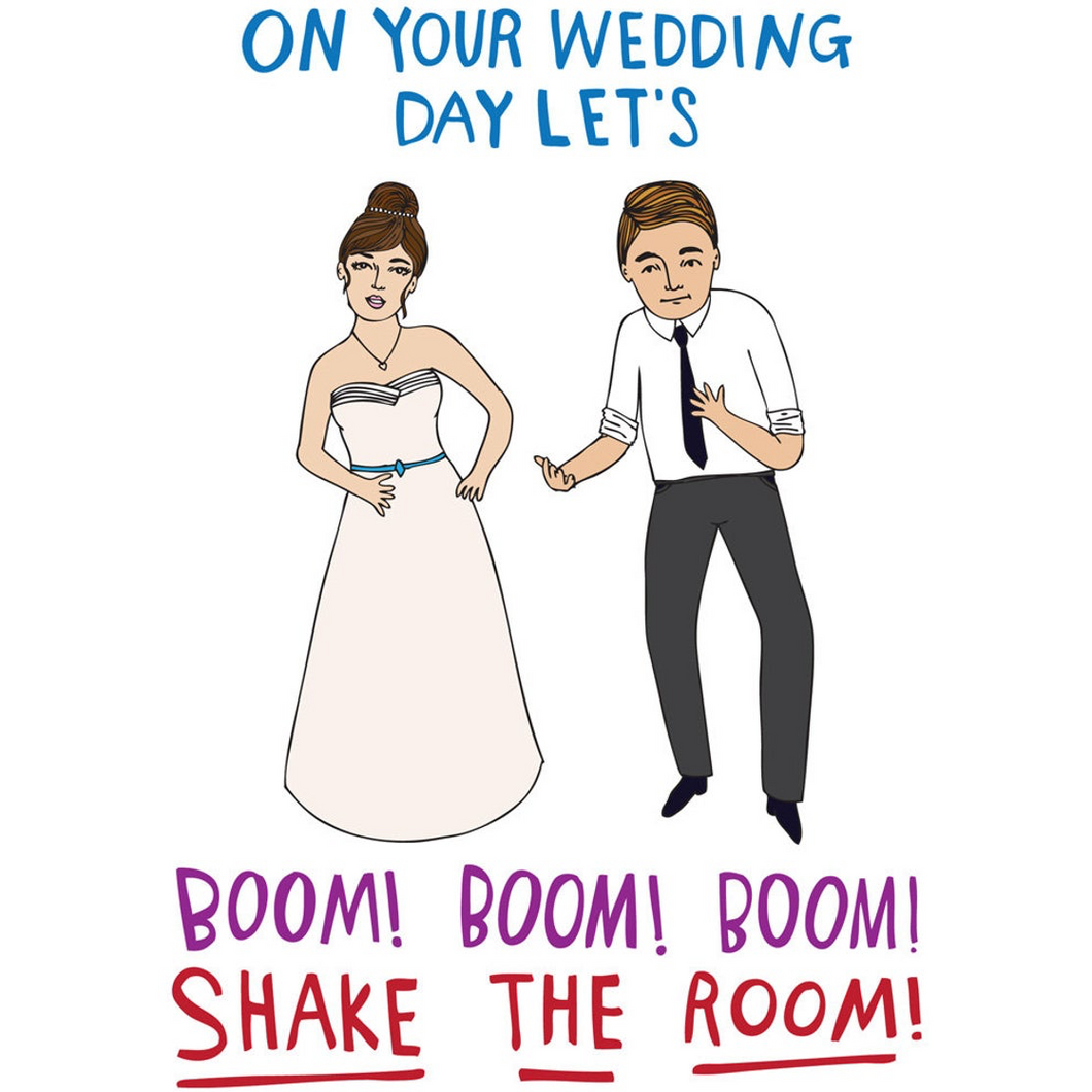 ABLE AND GAME Card - Wedding Day (Mr & Mrs)