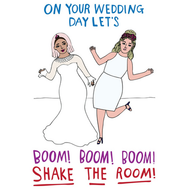 ABLE AND GAME Card - Wedding Day (Mrs & Mrs)