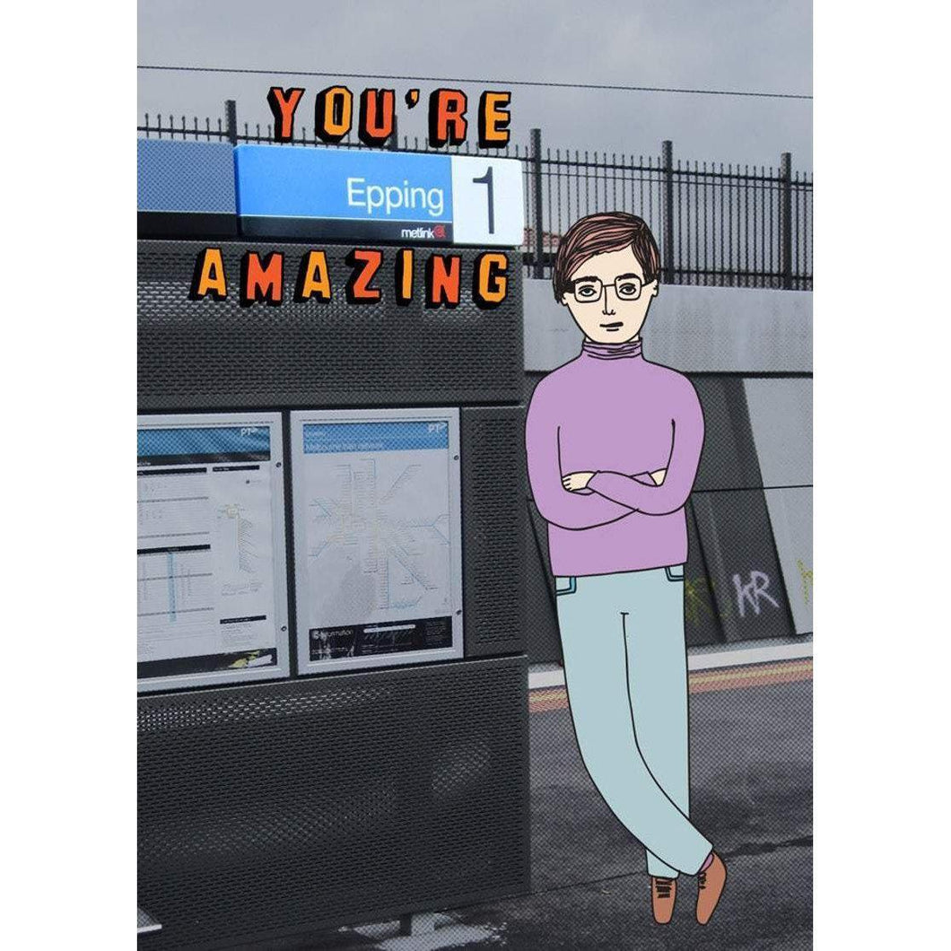 ABLE AND GAME Card - You're Epping Amazing