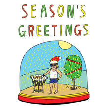 Load image into Gallery viewer, ABLE AND GAME Christmas Card - Season's Greetings