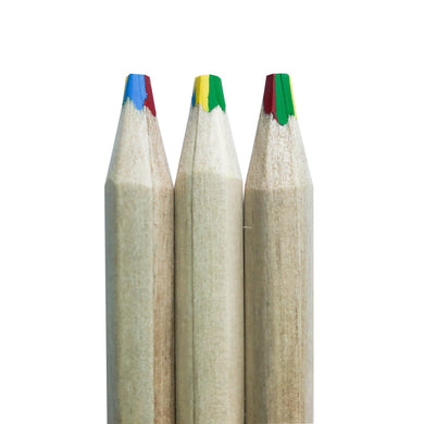 Chunky Wooden Rainbow Pencils