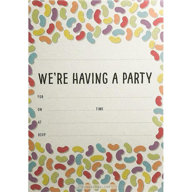 COOCACHUU Party Invitations - Jelly Beans