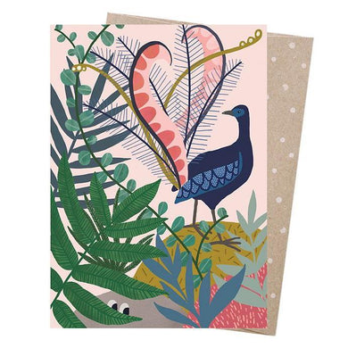 EARTH GREETINGS Card - Lyrebird's Serenade