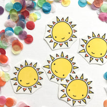 Load image into Gallery viewer, Eco-Mini™ Temporary Tattoo - Sun