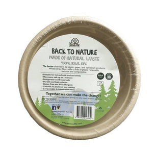 ECO SOUL LIFE Back To Nature Bowls - 10pc