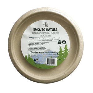 ECO SOUL LIFE Back To Nature Side Plates - 10pc