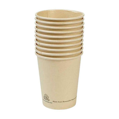 ECO SOUL LIFE Sugarcane Cups - 10pc