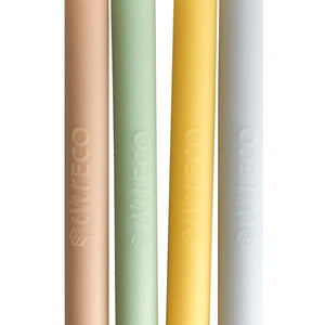 EVER ECO 4pc Pastel Silicone Straws