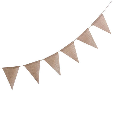 Hessian Flag Bunting (3m)