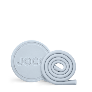 JOCO Key-ring Roll Straw - Vintage Blue 7""