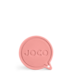 JOCO Key-ring Roll Straw - Vintage Pink 7""
