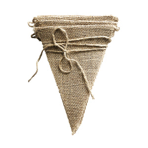 Natural Hessian String Bunting (3m)