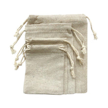 Load image into Gallery viewer, Natural Linen Party Bags