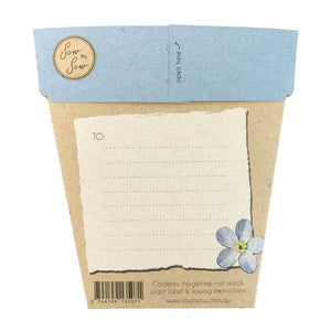 SOW 'N SOW Gift of Seeds - Forget Me Not