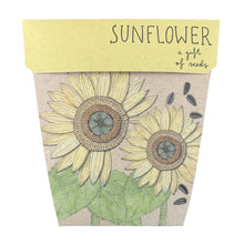Load image into Gallery viewer, SOW 'N SOW Gift of Seeds - Sunflower