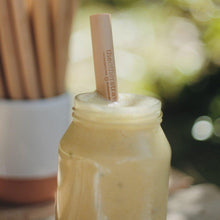 Load image into Gallery viewer, THE OTHER STRAW #SipSustainably Bamboo Straws (15cm)