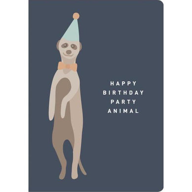 THE THINKTREE Card - Happy Birthday Party Animal
