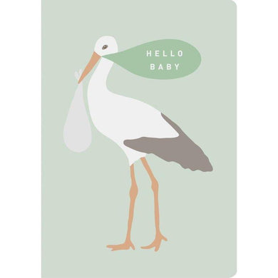 THE THINKTREE Card - Hello Baby Stork