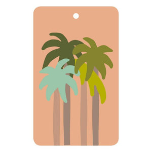 THE THINKTREE Gift Tag - Palms