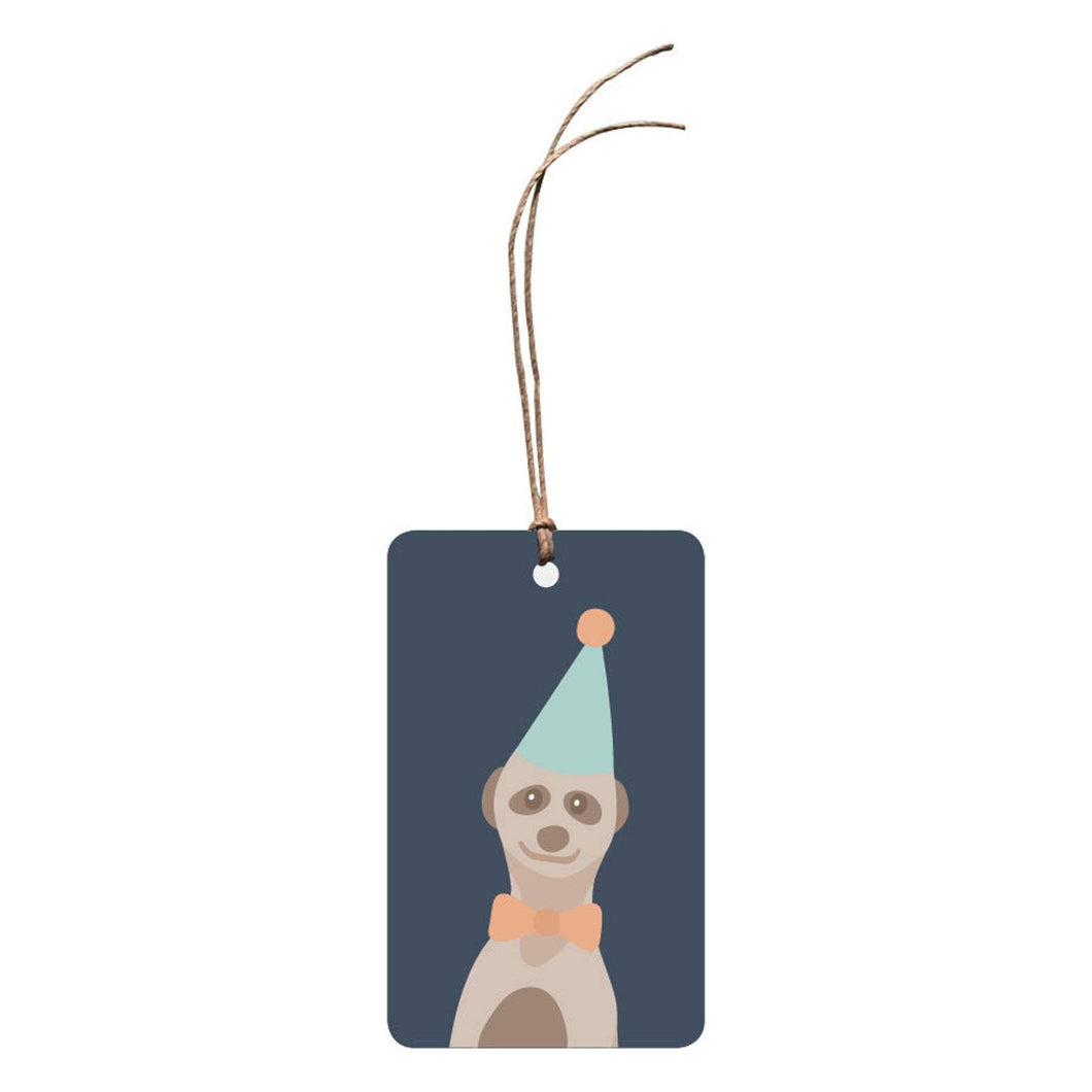 THE THINKTREE Gift Tag - Party Animal