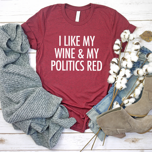 Red Politics & Red Wine