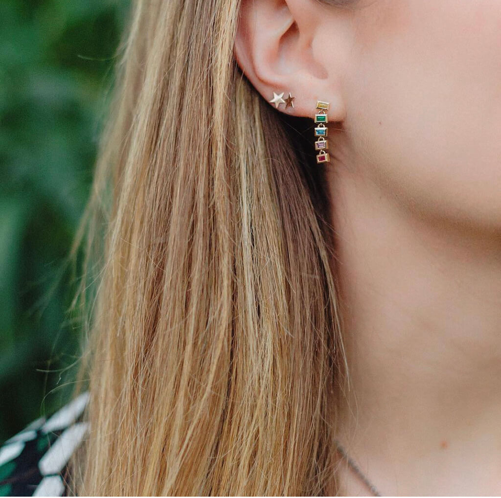 Seeing Stars Studs | BGJ Collection