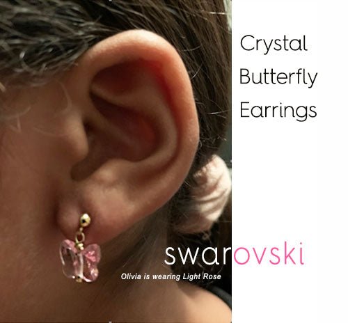 Butterfly Earrings - LIMITED COLLECTION